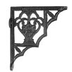 Black Country Metal Works Blossville Shelf Bracket