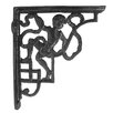 Black Country Metal Works Cherub Shelf Bracket