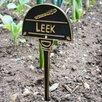Black Country Metal Works Leek Vegetable Garden Sign