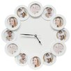 Deknudt Frames 42.6cm Wall Clock with 12 Round Apertures