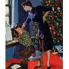 Marmont HIll Christmas Thank You Notes by George Hughes Painting Print on Wrapped Canvas