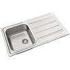 Pyramis Athena 86cm x 50cm Kitchen Sink