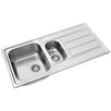 Pyramis Athena 100cm x 50cm Kitchen Sink