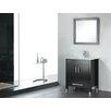 """Adornus Amadis 24"""" Single Bathroom Vanity Set with Mirror"""