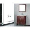 """Adornus Amadis 36"""" Single Bathroom Vanity Set with Mirror"""