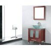 "Adornus Adrian 24"" Single Bathroom Vanity Set with Mirror"