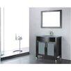 """Adornus Adora 24"""" Single Bathroom Vanity Set with Mirror"""