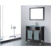 "Adornus Adora 36"" Single Bathroom Vanity Set with Mirror"