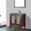 "Adornus Amara 30"" Single Bathroom Vanity Set with Mirror"