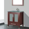 "Adornus Amara 24"" Single Bathroom Vanity Set with Mirror"