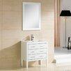 """Adornus Camile 36"""" Single Bathroom Vanity Set with Mirror"""