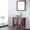 "Adornus Adrian 30"" Single Bathroom Vanity Set with Mirror"