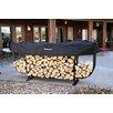 Woodhaven Steel Courtyard Log Rack