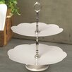 Culinary Concepts 2 Tier Daisy Cake Stand