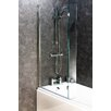 Cassellie 138.5cm x 83cm Hinged Bath Screen