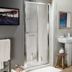 Cassellie 185cm x 74.5cm Folding Shower Door