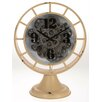 Inart Metal Table Clock