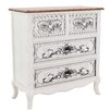 Inart 4 Drawer Chest