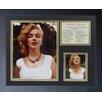 Legends Never Die Marilyn Monroe - Necklace Color Framed Memorabili