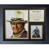 Legends Never Die John Wayne - John Wayne Color Framed Memorabili