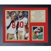 Legends Never Die San Francisco 49ers Rice and Young Framed Memorabili