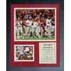Legends Never Die 2011 Alabama Crimson Tide National Champions Framed Memorabilia