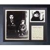 Legends Never Die Charlie Chaplin Framed Memorabilia