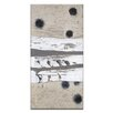 Artist Lane Black Holes And Other Dark Matter 5 by Katherine Boland Framed Painting Print on Wrapped Canvas