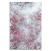 Artist Lane Red by Sally Adams Painting Print on Wrapped Canvas