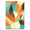 Artist Lane Shard Retro by Ayarti Graphic Art on Wrapped Canvas