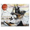 Artist Lane Once in an Orange Moon by Olena Kosenko Framed Painting Print on Wrapped Canvas