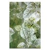 Artist Lane Foliage 3 by Sally Adams Framed Painting Print on Wrapped Canvas