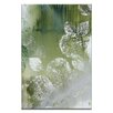 Artist Lane Hydrangea Green by Sally Adams Painting Print on Wrapped Canvas