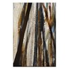 Artist Lane Treeline in Olive #1 by Katherine Boland Painting Print on Wrapped Canvas