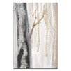 Artist Lane Moonlit Trees 3 by Karen Hopkins Painting Print on Wrapped Canvas