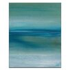 Artist Lane Out to Sea by Karen Hopkins Painting Print on Wrapped Canvas