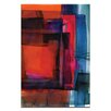 Artist Lane Watercolor Abstraction 115 by Kathy Morton Stanion Painting Print on Canvas