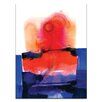 Artist Lane Watercolor Abstraction 125 by Kathy Morton Stanion Painting Print on Canvas