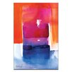 Artist Lane Watercolor Abstraction 205 by Kathy Morton Stanion Painting Print on Canvas