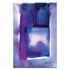 Artist Lane Watercolor Abstraction 214 by Kathy Morton Stanion Painting Print on Canvas