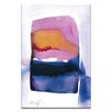 Artist Lane Watercolor Abstraction 217 by Kathy Morton Stanion Painting Print on Canvas