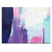 Artist Lane 'Champaign Sunset' by Kirsten Jackson Painting Print on Canvas