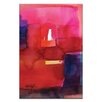Artist Lane Watercolor Abstraction 220 by Kathy Morton Stanion Painting Print on Canvas