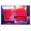 Artist Lane Watercolor Abstraction 229 by Kathy Morton Stanion Painting Print on Canvas