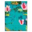 Artist Lane Swan lilys by Anna Blatman Painting Print on Canvas