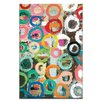 Artist Lane 'Colored Circles' by Anna Blatman Painting Print on Wrapped Canvas