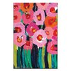 Artist Lane Poppies by Anna Blatman Painting Print on Canvas