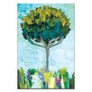 Artist Lane Tree In The Breeze by Anna Blatman Painting Print on Canvas