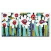 Artist Lane Blooms by Anna Blatman Painting Print on Canvas