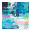Artist Lane Sea Blue by Kirsten Jackson Painting Print on Canvas